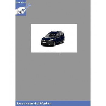 Dacia Dokker (12>) Fahrwerk Achsen Lenkung Bremsen - Reparaturleitfaden