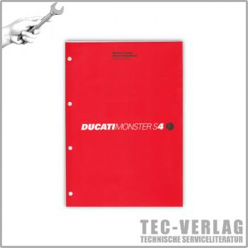 Ducati Monster S4 (2002) - Werkstatthandbuch / Manuel d'ateliere