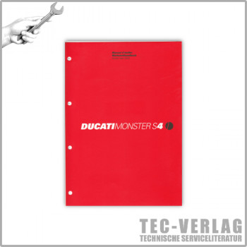 Ducati Monster 400 / 600 / 750 (2001) - Werkstatthandbuch / Manuel d'ateliere