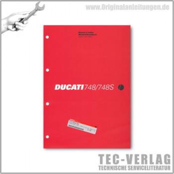 Ducati 748 748S (2001) - Werkstatthandbuch / Manuel d'ateliere