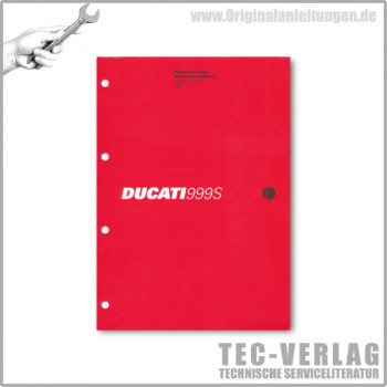 Ducati 999S (2003) - Werkstatthandbuch / Manuel d'ateliere
