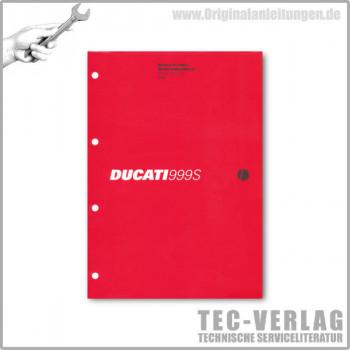 Ducati 999/999S (2006) - Werkstatthandbuch / Manuel d'ateliere