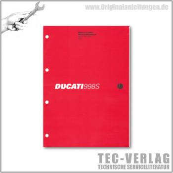 Ducati 998S (2002) - Werkstatthandbuch / Manuel d'ateliere
