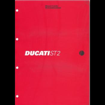 Ducati ST2 (97 - 03) - Werkstatthandbuch / Manuel d'ateliere