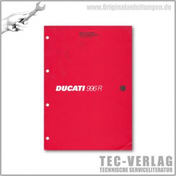 Ducati 996R (2001) - Werkstatthandbuch / Manuel d'ateliere