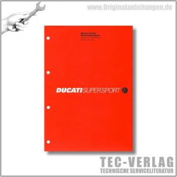 Ducati Supersport 750/750 Sport (2002) - Werkstatthandbuch / Manuel d'ateliere