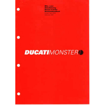 Ducati Monster S4R (2005) - Werkstatthandbuch / Manuel d'ateliere