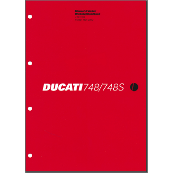 Ducati 748 / 748S (2002) - Werkstatthandbuch / Manuel d'ateliere