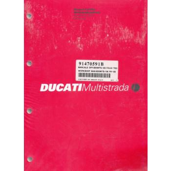 Ducati 620 Multistrada 06> Werkstatthandbuch / Manuel d'ateliere