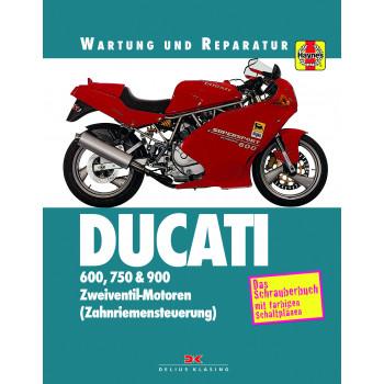 Ducati Monster / Supersport 600 / 750 / 900 (91-98) - Reparaturanleitung