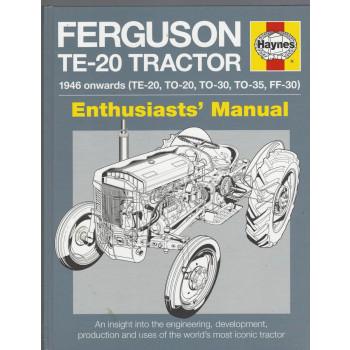 Ferguson Te-20 Tractor (1946>) Haynes Repair Manual