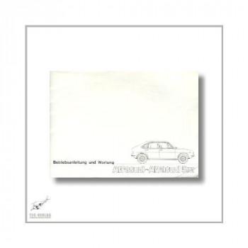 Alfa Romeo Alfasud (72>) Betriebsanleitung und Wartung 1976