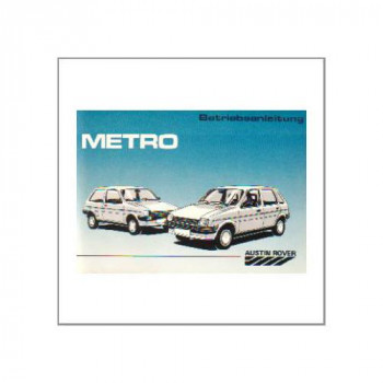 Austin Rover Metro (>88) - Betriebsanleitung