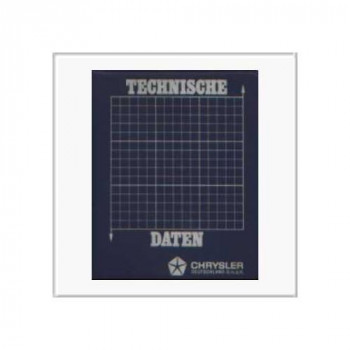 Chrysler 1975 - Technische Daten