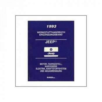 Chrysler Jeep (93) - Werkstatthandbuch Ergänzungsband