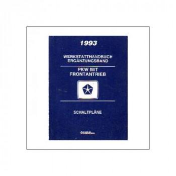 Chrysler PKW  Frontantrieb Schaltpläne (93) - Werkstatthandbuch Ergänzungsband