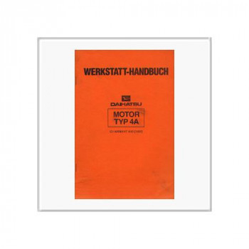 Daihatsu Charmant (84>) - Werkstatthandbuch Motor Typ 4A
