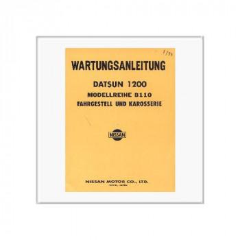 Datsun 1200 - Werkstatthandbuch