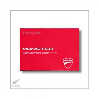 Ducati Monster 1100 EVO ABS (11-13) Libretto di uso e manutenzione