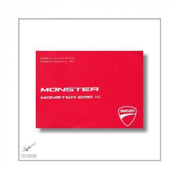 Ducati Monster 696 ABS (12>) Manuel d utilisation et entretien
