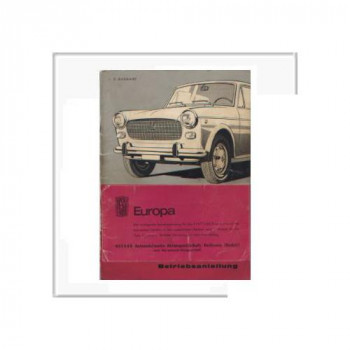 Fiat 1100 D - Betriebsanleitung