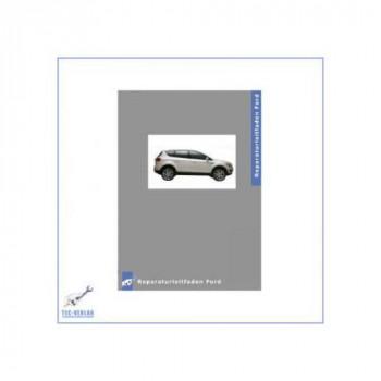 Ford Kuga (08>) 2.0L Duratorq TDCi Motor - Werkstatthandbuch