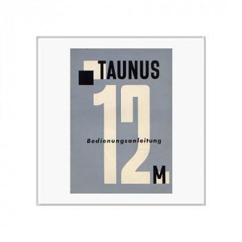 Ford Taunus 12 M (60>) - Betriebsanleitung