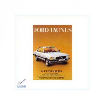 Ford Taunus (ab 1979) - Kurzanleitung in Posterform