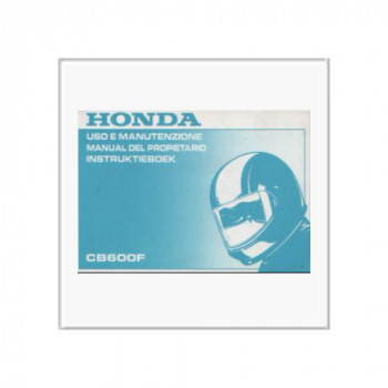 Honda CB 600 F von 1997 - Instruktieboek