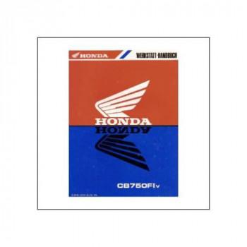 Honda CB 750 FII v (96>) - Werkstatthandbuch - Nachtrag