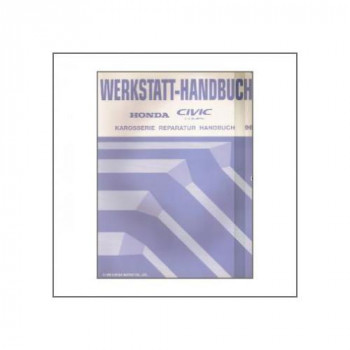 Honda Civic Coupe (>1996) - Karosserie Reparatur Handbuch