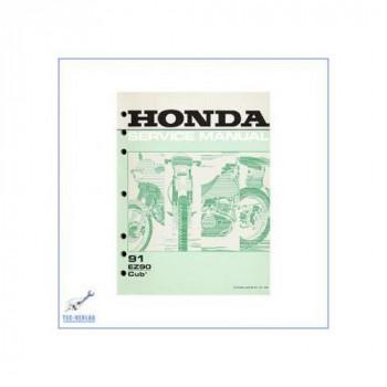 Honda EZ 90 Cub (>91) - Werkstatthandbuch