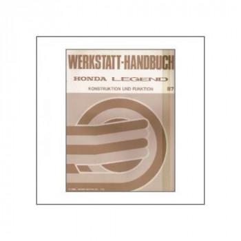 Honda Legend (>1987) - Konstruktion und Funktion - Werkstatthandbuch