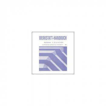 Honda Legend (96>) - Karosserie Reparatur Handbuch