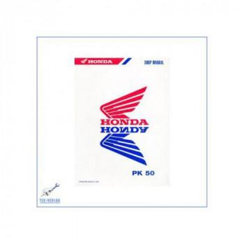 Honda PK 50 ab 1990 - Werkstatthandbuch