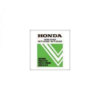 Honda WB-D40/WT-D30/WT-D40 (88>) - Werkstatthandbuch