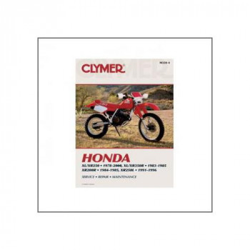Honda XL / XR 200 , 250 , 350 ccm (78-00) - Repair Manual