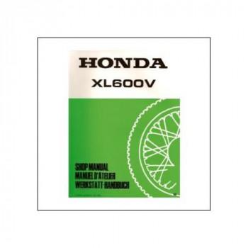 Honda XL600V (90>) - Werkstatthandbuch - Nachtrag