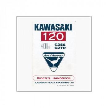Kawasaki 120 - Betriebsanleitung