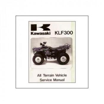 Kawasaki KLF 300 (>1985) - Werkstatthandbuch