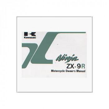 Kawasaki ZX-9R - Owner`s Manual