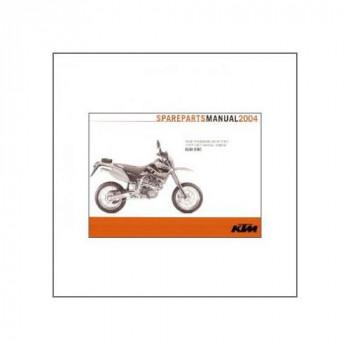 KTM 660 SMC (>2004) - Ersatzkatalog Fahrgestell