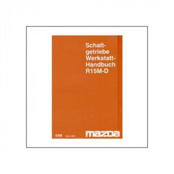 Mazda R15M-D (<96) Schaltgetriebe - Werkstatthandbuch