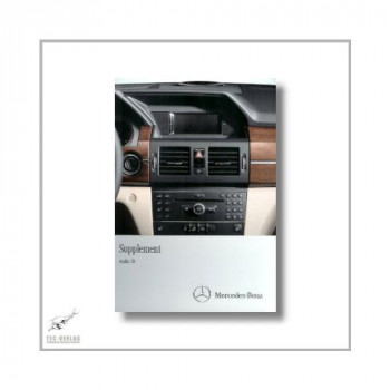 Mercedes-Benz C-Class (07>) Supplement Audio 20 2011