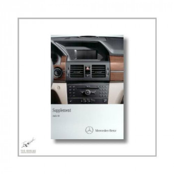 Mercedes-Benz C-Class (07>) Supplement Audio 50 2011