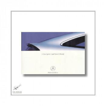 Mercedes-Benz C-Class Sports Coupe (00>) Owner`s Manual 2003