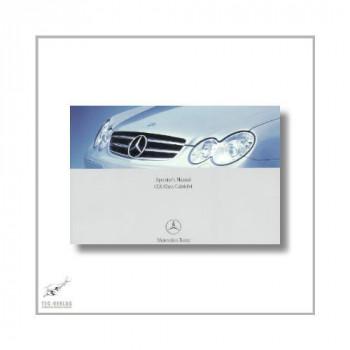 Mercedes-Benz CLK-Class Cabriolet (02>) Operator`s Manual 2006