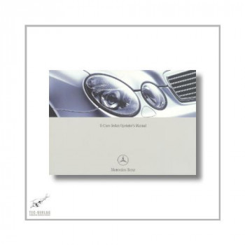 Mercedes-Benz E-Class Sedan (02>) Operator`s Manual 2004
