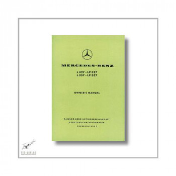 Mercedes-Benz L327 LP327 L337 LP337 (59>) Owner`s Manual