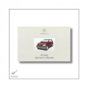 Mercedes-Benz M-Class (97>) Operator`s Manual 2000